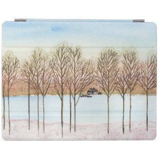 Winter Lake iPad Smart Cover