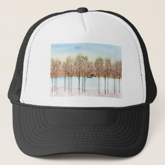 Winter Lake Trucker Hat