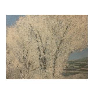 Winter Landcape Utah Wood Wall Art