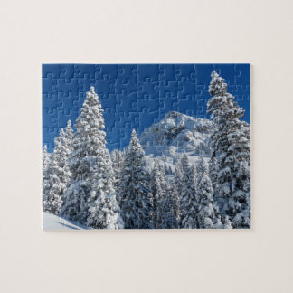 Winter Landscape Jigsaw Puzzle