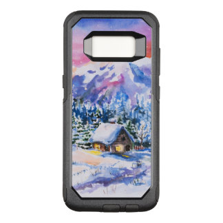 Winter landscape OtterBox commuter samsung galaxy s8 case