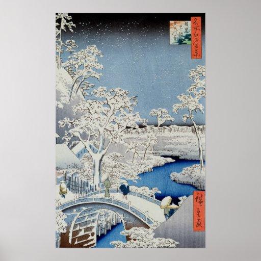Winter Landscape Print