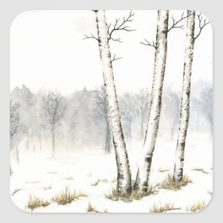 Winter Landscape Sticker