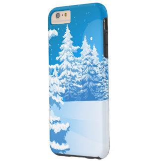 Winter Landscape Tough iPhone 6 Plus Case