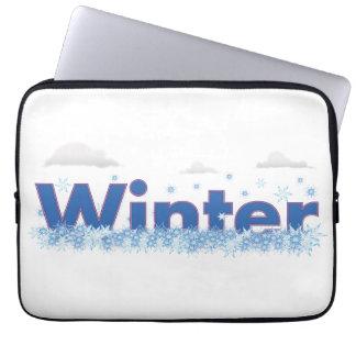 Winter Computer Sleeves