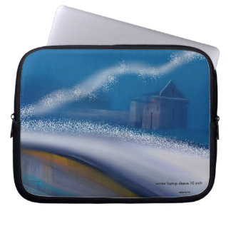 winter laptop sleeve 10 inch, Painting & design by