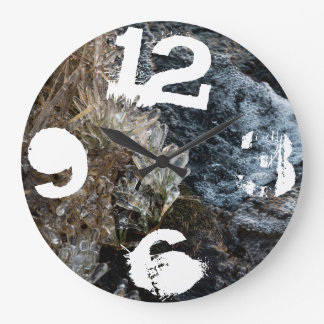 winter large clock