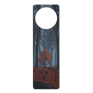 Winter Leaves Door Hanger