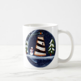 Winter Lighthouse Mug