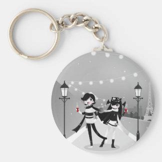 Winter Love Key Ring