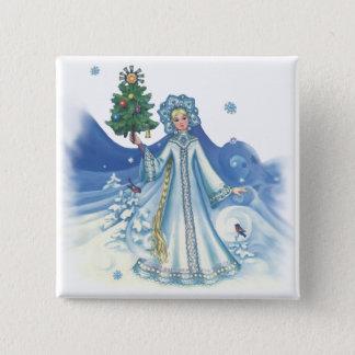 Winter Magic 15 Cm Square Badge