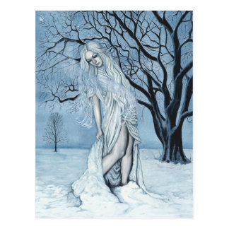 Winter Magic Postcard