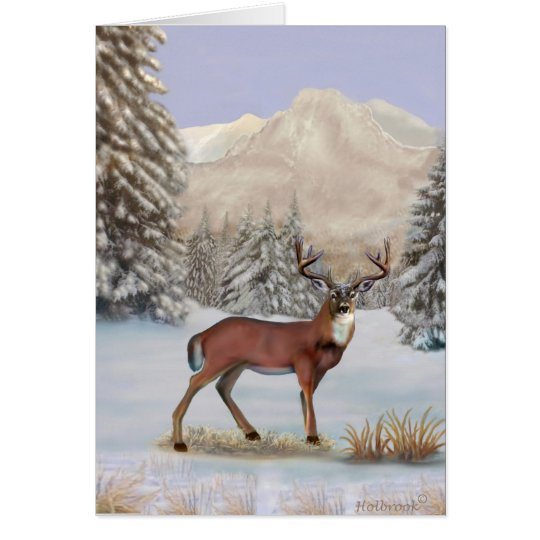 WINTER MAJESTY CARD