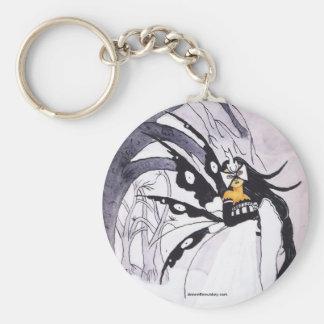Winter Masquerade Keychain