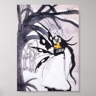 Winter Masquerade Print