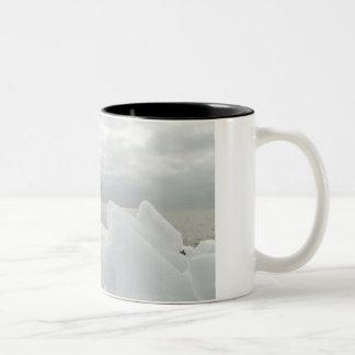 Winter memories Two-Tone coffee mug