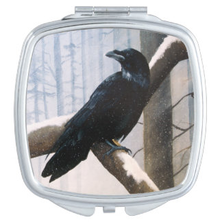 Winter Messenger Travel Mirror