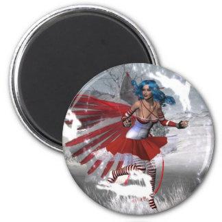 Winter Mischief Magic Refrigerator Magnets