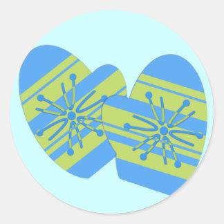 Winter Mitten Stickers