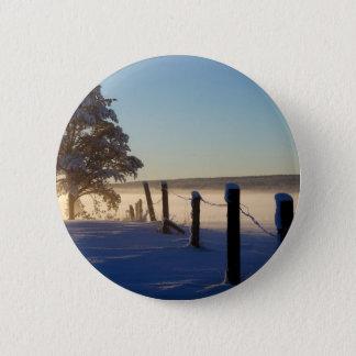 Winter Morning St Joseph Island 6 Cm Round Badge