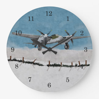 Winter Mosquito 1944 Wall Clock