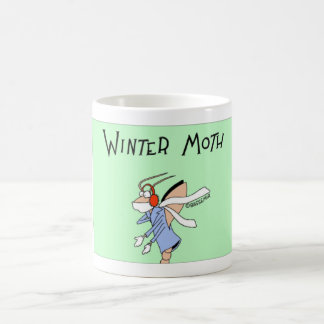 Winter moth coffee mug