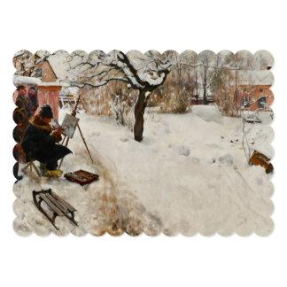 Winter Motif Åsögatan Card