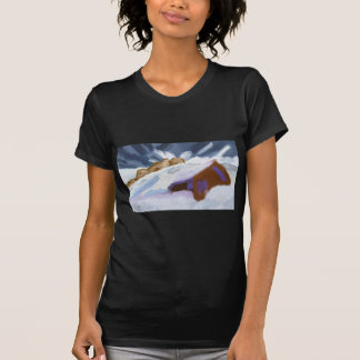 Winter Mountains Art T-Shirt