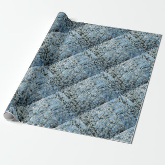 Winter Nature Hard Frost Abstract Art Wrapping Paper