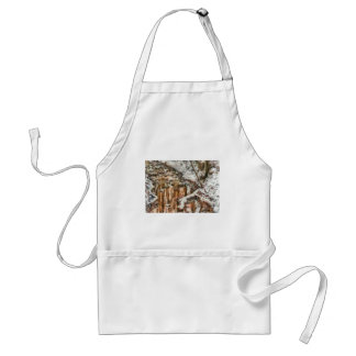 Winter - Natures Harmony - Painted Adult Apron