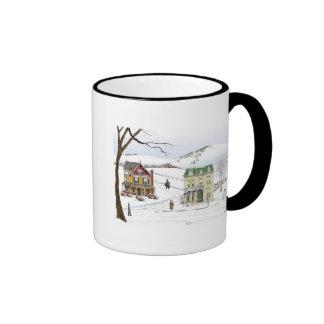 Winter Neighborhood Mugs