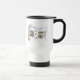 Winter Neighborhood Coffee Mug