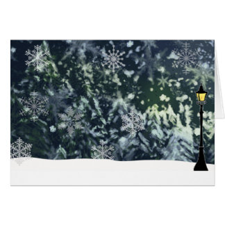 winter-night-scene card
