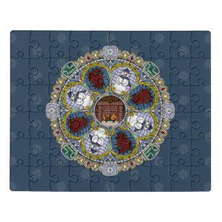 Winter Nouveau Acrylic Puzzle