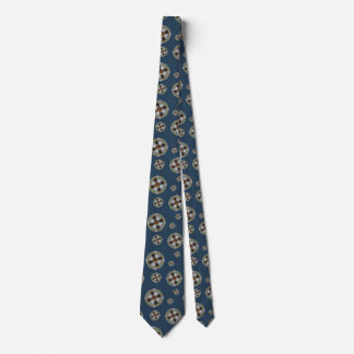 Winter Nouveau Men's Neck Tie