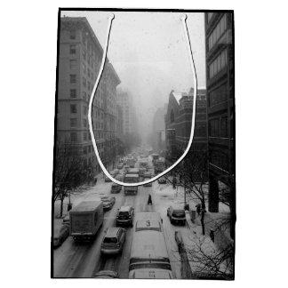 Winter NYC Medium Gift Bag