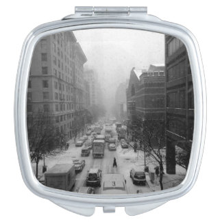 Winter NYC Travel Mirror