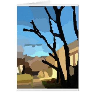 Winter on Cherry Tree Street Card