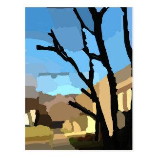 Winter on Cherry Tree Street Postcard
