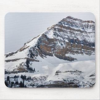 Winter on Mt Timpanogos - Sundance - Utah Mouse Pad