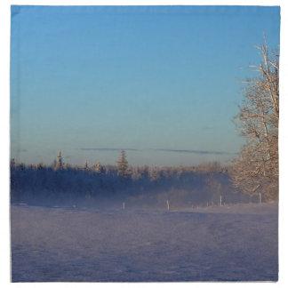 Winter on St Joseph Island Napkin