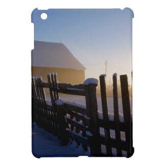 Winter on the farm cover for the iPad mini