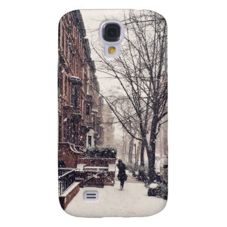 Winter On The Upper West Side Galaxy S4 Cover