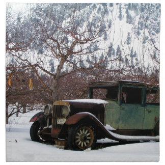 Winter Orchard Landmark Napkin