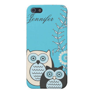 Winter Owls  Cover For iPhone 5/5S