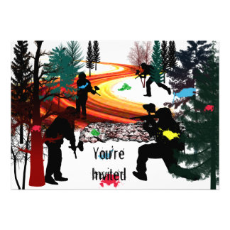 Winter Paintball in the Woods Announcements