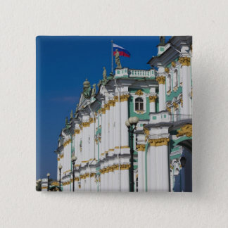 Winter Palace and Hermitage Museum 15 Cm Square Badge