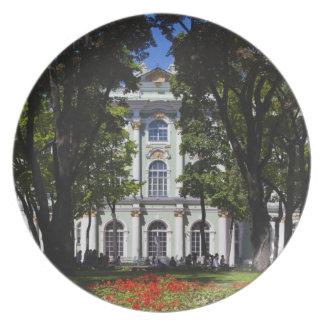 Winter Palace, Hermitage Museum, exterior Dinner Plate