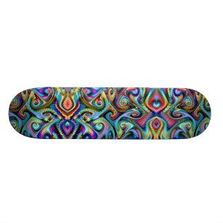 Winter Palette Fractal 20.6 Cm Skateboard Deck