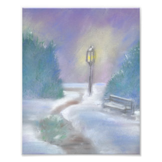 Winter Park Art Print Art Photo